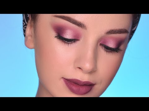 Soft Romantic Smokey Eye Makeup Tutorial | Valentine's Day Makeup