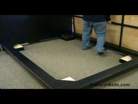 Blocks Modern Platform Bed Assembly