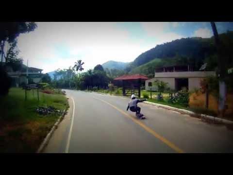 Downhill Skate Speed - Fernando Rubim Raw Run - Guarapari ES - GOPRO Renan Lage