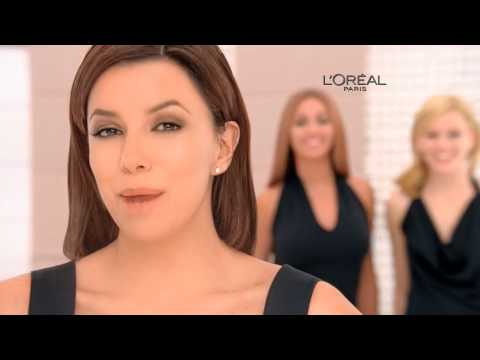 Loreal Paris True Match Commerical www.eva-longoria.net.ru Video