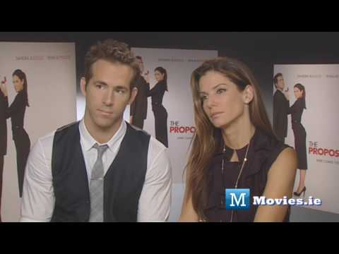 Ryan Reynolds & Sandra Bullock - Sexual Chemistry Filled Interview for The Proposal comedy Video