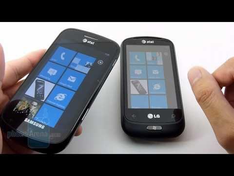 LG Quantum vs Samsung Focus