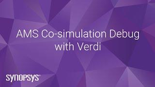 AMS Co-simulation Debug with Verdi