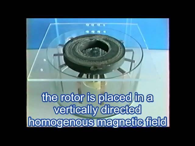self-powered magnetohydrodynamic motor