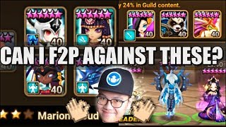 Lydia Giana Defense & F2P RTA vs Akroma Vivachel | Summoners War