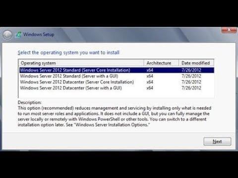 Windows server 2012 R2 installation step by step part-1 bangla