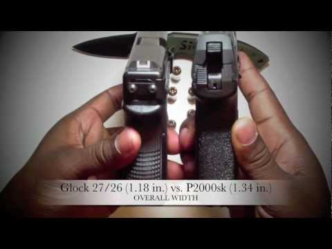 MrColionNoir Gun Review: H&K P2000sk VS. Glock 27