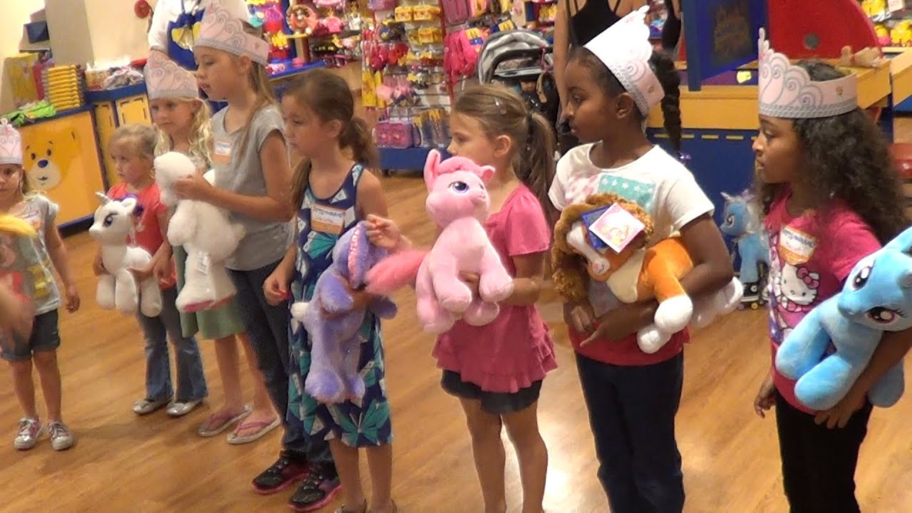 Build Bear Birthday Party Cost