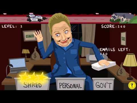 Hillary Clinton Email Scandal Fun Game (Short Version)