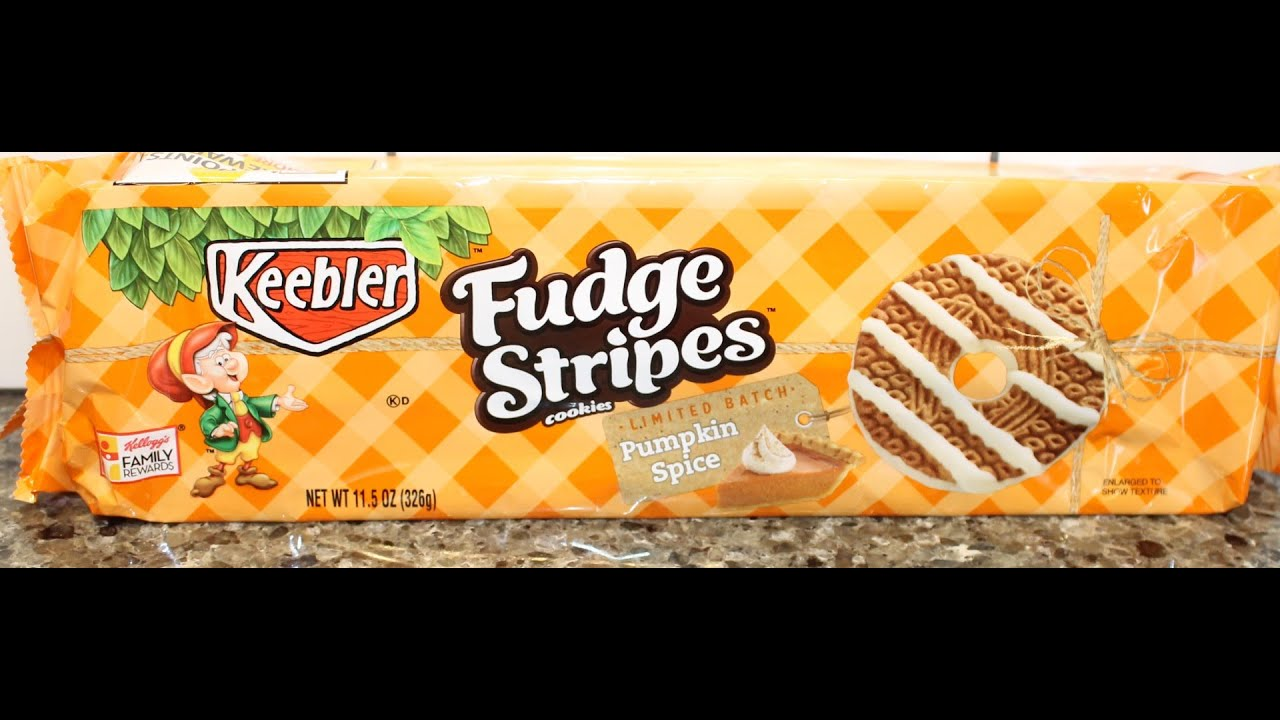 Pumpkin Spice Fudge STripes