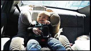 6 MONTH OLD LIKES HIS CARSEAT! || DAY 92
