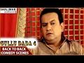 Gullu Dada 4 Hyderabadi Movie    Back To Back Comedy Scenes    Sajid Khan, Aziz Naser
