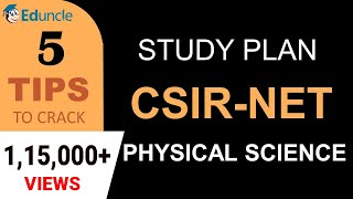 5 Tips to Crack CSIR NET Physical Science - (Final) Study Plan