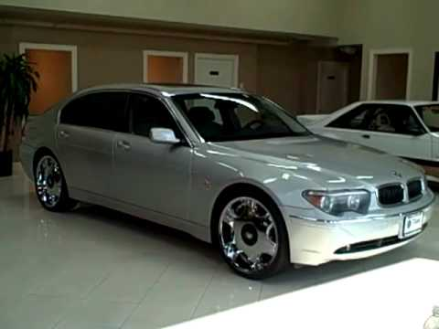 04 BMW 745Li Silver TITAN AUTO SALES in Worth, IL