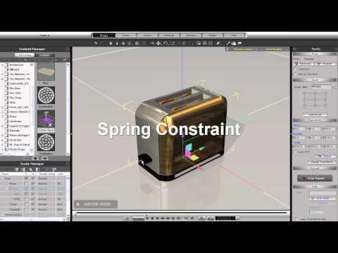 iClone5 Tutorial – Constraint Types Part 1