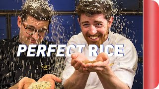 How To Cook Perfect Rice | Two Chefs at a Table