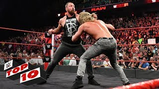 Top 10 Raw moments WWE Top 10 August 13 2018