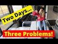 RV Travel Day Problems (RV Water Pump // RV Hydraulic Slides // RV Power)   Full Time RV