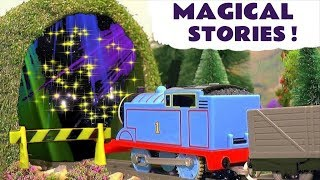 Thomas and Friends Magical Stories with toy trains and Wizard Funling magic TT4U