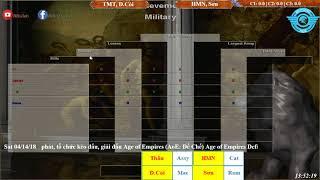 AoE 22 Random Tiểu Màn Thầu, Dương Còi vs Hoàng Mai Nhi, Game Thủ Mới