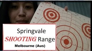 Springvale Shooting Range (SSAAVIC) Australia