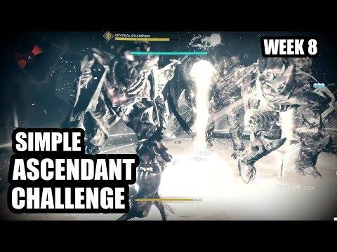 Simple Ascendant Challenge Method (Week 8) | Destiny 2 Forsaken thumbnail