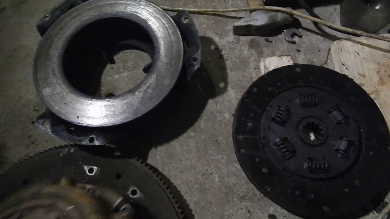 Замена диска сцепления на газ 3110 своими руками 7