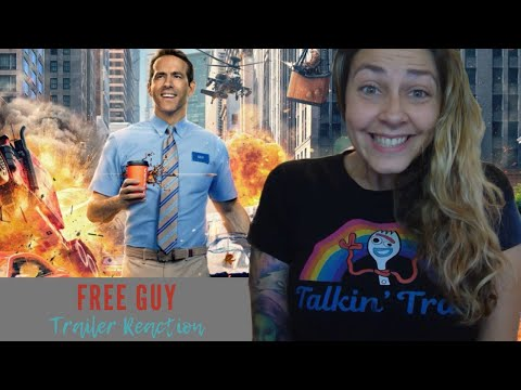 Free Guy Official Trailer REACTION!!