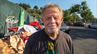 Video: Brent, Hollywood, previously a Law Clerk, now homeless - Invisible People