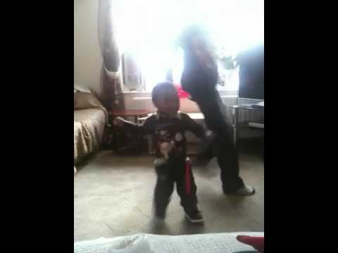 Lmfao Baby 1 Year Old Dancing To Party Rock video
