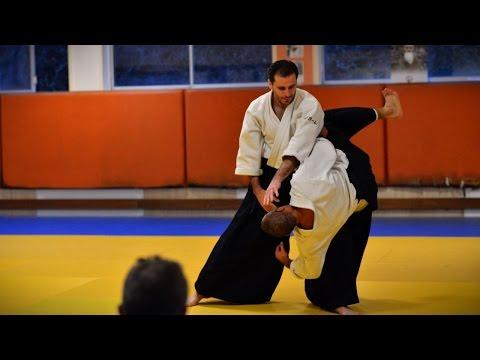Aikido - Guillaume Erard seminar in Besançon (December 2014)