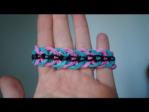 Как сделать браслет ленивый из резинок