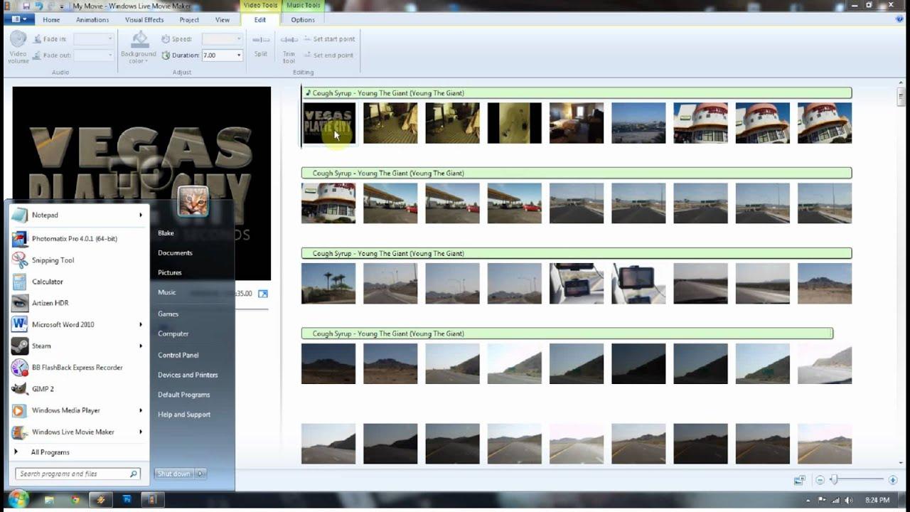 Как вставить текст в видео посредством Windows Movie Maker 75