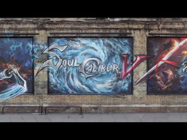 Soulcalibur V - X360 / PS3 - SoulCalibur V Graffiti Transforms London's East End