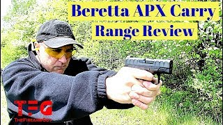 Beretta APX Carry Range Review - TheFireArmGuy