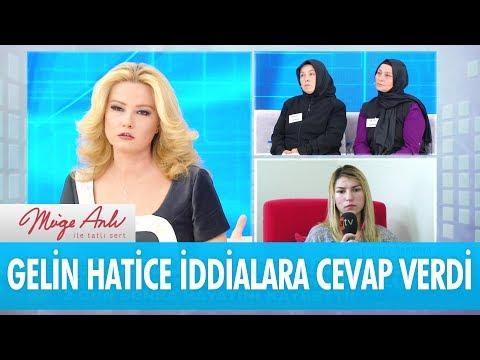 Gelin Hatice iddialara cevap verdi!  - Müge Anlı İle Tatlı Sert 7 Kasım