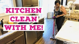 ULTIMATE KITCHEN CLEAN WITH ME 2019/ CLEANING ROUTINE /MOTIVATION
