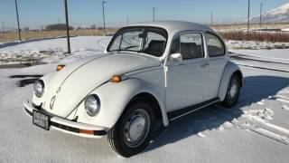 1968 VW Beetle, New 1600 Motor with 4-Speed Freeway Flyer Manual Trans, New Paint, ZERO RUST!!