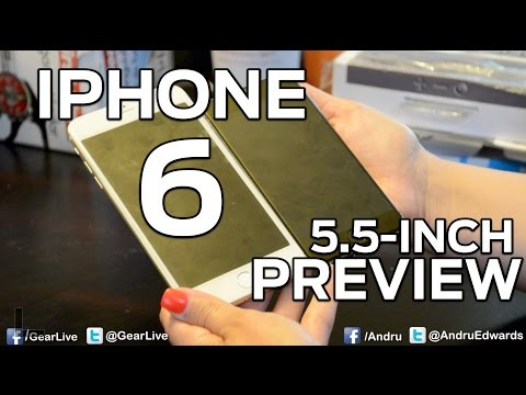 iPhone 6 Preview: The huge 5.5-inch model!