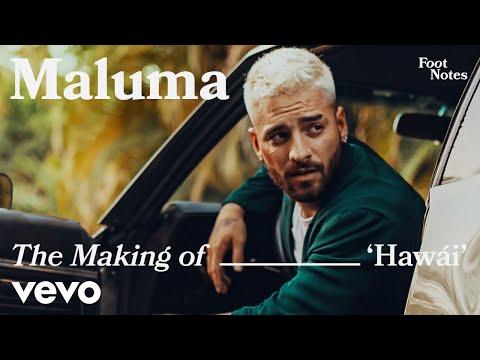 Maluma - The Making of Hawái   Vevo Footnotes