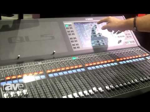 InfoComm 2014: Yamaha Features the QL5 Audio Mixer