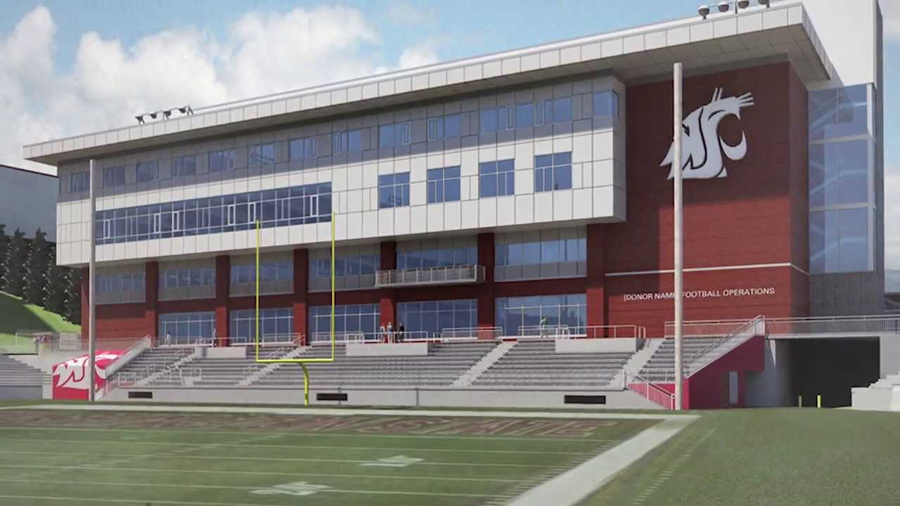 Wsu Football Operations Building Tour January 2014 Youtube