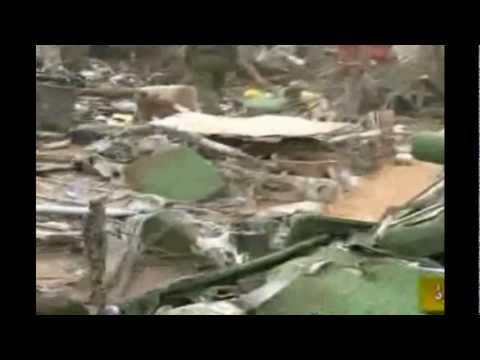 EERSTE BEELDEN VLIEGTUIG CRASH TRIPOLI UP-TO-DATE (HD)