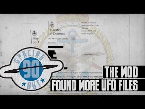The MOD found more UFO files - Spacing Out! Ep. 90