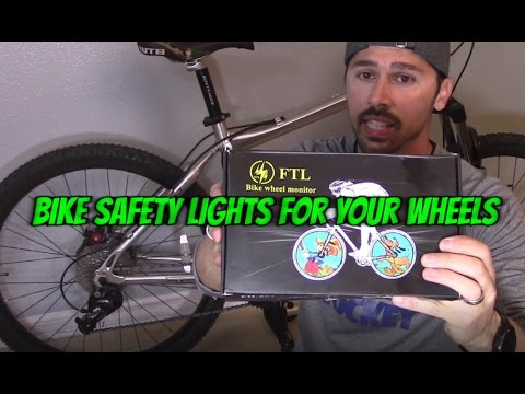 HOW TO INSTALL BIKE WHEEL LED KIT. FTL XUANWHEEL REVIEW