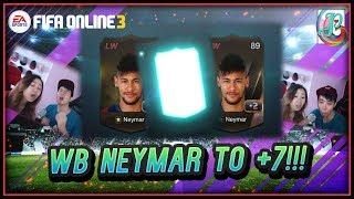 ~WB Neymar +7??~ New Insane World Legend Upgrading - FIFA ONLINE 3
