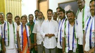 Giddalur TDP Leaders Joins in YSRCP | వైఎస్సార్ సీపీలోకి భారీగా చేరికలు.. - Watch Exclusive