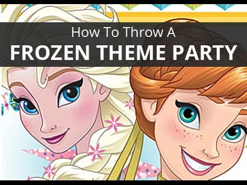 How to Host a Frozen Theme Party - Shindigz Party Supplies