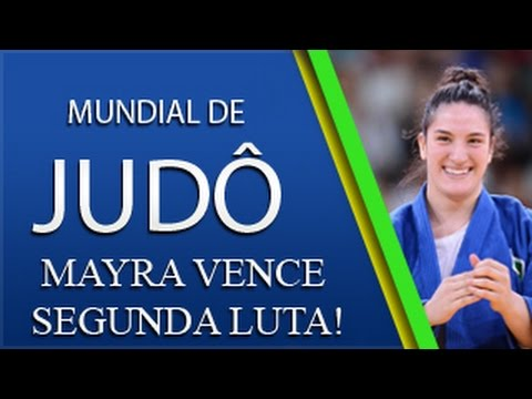 Mundial de Judô - Rússia - Mayra Aguiar x Taia Talarn