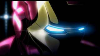Thumb Iron Man y Wolverine versión anime